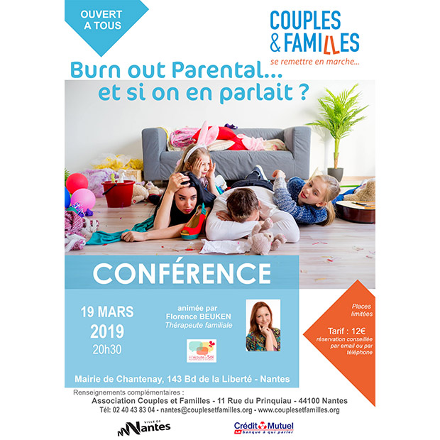 "Conférence ""Burn out parental... et si on en parlait"""